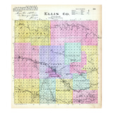 1887, Ellis County, Kansas, United States Giclee Print