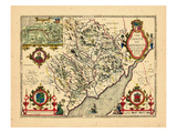 1610, Monmouth, United Kingdom Giclee Print