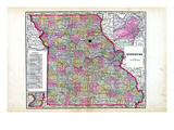 1905, State, Missouri, United States Giclee Print