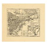 1762, New Brunswick, Newfoundland and Labrador, Nova Scotia, Ontario, Prince Edward Island, United Giclee Print