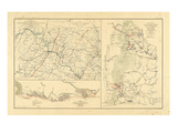 1891, DC, Pennsylvania, Virginia, Civil War Giclee Print