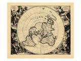 1713, World Giclee Print