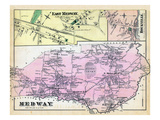 1876, Medway, East Medway, Medway East, Rockville, Massachusetts, United States Giclee Print