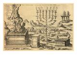 1572, Israel, Jordania, Territorios palestinos Lámina giclée