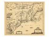 1651, Connecticut, Maine, Massachusetts, New Hampshire, New Jersey, New York, Virginia, Rhode Islan Giclee Print