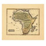 1828, Africa Giclee Print