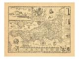 1610, United Kingdom Giclee Print