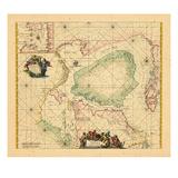 1739, Newfoundland and Labrador, Nunavut Giclee Print
