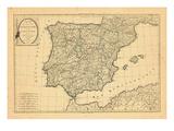 1808, Portugal, Spain Giclee Print