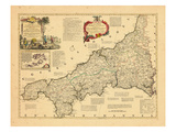 1762, Cornwall, United Kingdom Giclee Print