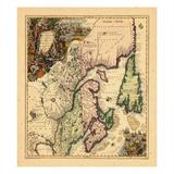 1750, Canada Giclee Print