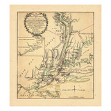 1776, Connecticut, New Jersey, New York Giclee Print