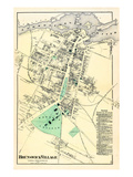 1871, Brunswick Village, Maine, United States Giclee Print
