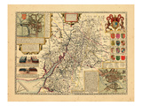 1611, Glocestershire, United Kingdom Giclee Print