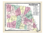 1869, Pittsford Town, Vermont, United States Giclee Print