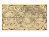 1562, World Giclee Print