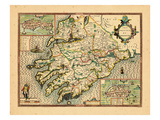 1611, Mounster, United Kingdom Giclee Print