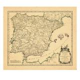 1750, Portugal, Spain Giclee Print