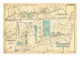 1906, Verona, Cedar Grove, New Jersey, United States Giclee Print