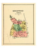 1876, Ridgewood Township, New Jersey, United States Giclee Print