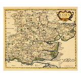1695, Essex, United Kingdom Giclee Print