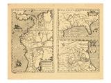 1609, Florida, Mexico, Colombia, Ecuador, Peru Giclee Print