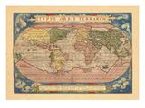 1570, World Giclee Print