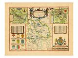 1611, Huntingdon, United Kingdom Giclee Print