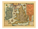 1609, Ireland, United Kingdom Giclee Print