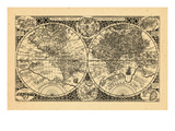 1605, World Giclee Print