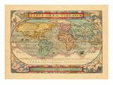 1572, World Giclee Print
