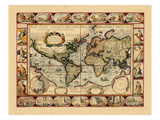 1631, World Giclee Print