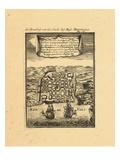 1683, Puerto Rico Giclee Print