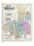 1872, Dixon, Illinois, United States Giclee Print