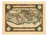 1612, World Giclee Print