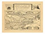 1593, Florida, Baccalaos, Canada, North America Giclee Print