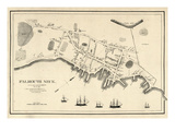 1775, Portland Falmouth Neck, Maine, United States Giclee Print
