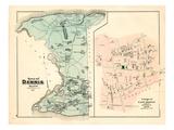 1880, Dennis Town, Dennis Village East, Massachusetts, United States Giclee Print