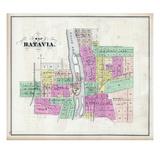 1871, Batavia, Illinois, United States Giclee Print