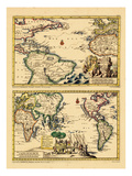 1729, World Giclee Print