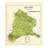 1916, Mount Airy, Maryland, United States Giclee Print