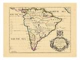 1701, South America Giclee Print