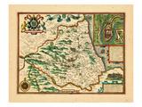 1611, United Kingdom Giclee Print