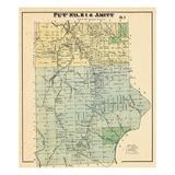 1877, Amity, Maine, United States Giclee Print