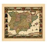 1652, Portugal, Spain Giclee Print