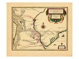 1636, Paraguay, Brazil Giclee Print