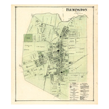 1873, Flemington, New Jersey, United States Giclee Print