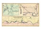 1876, Allendale, Oakland, Saddle River Valley, New Jersey, United States Giclee Print