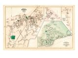 1880, Hyannis Village, Martons Mills Village, Cotuit Village, Hyannis Port Village, Massachusetts Giclee Print