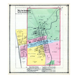 1874, Newport, Indiana, United States Giclee Print